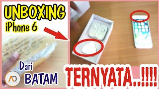 Video UNBOXING iPhone 6 Dari Batam TERNYATA Seperti Ini.!!! MP3, 3GP, MP4, WEBM, AVI, FLV September 2017