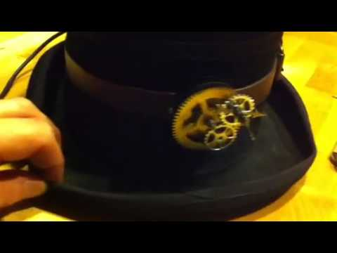 Steampunk Top Hat for MHC Costume