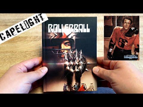 ROLLERBALL Kritik + Unboxing 4K/Blu-Ray 3 Disc UHD Mediabook Limited Editon Capelight James Caan