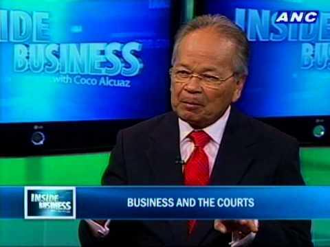 "ANC Inside Business ""Interview of CJ Panganiban"""