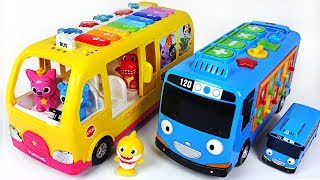 Video Baby Shark, Tayo~ Help Baby doll! Go! Smart Bus Tayo and Pinkfong Piano Bus! - PinkyPopTOY MP3, 3GP, MP4, WEBM, AVI, FLV Oktober 2018