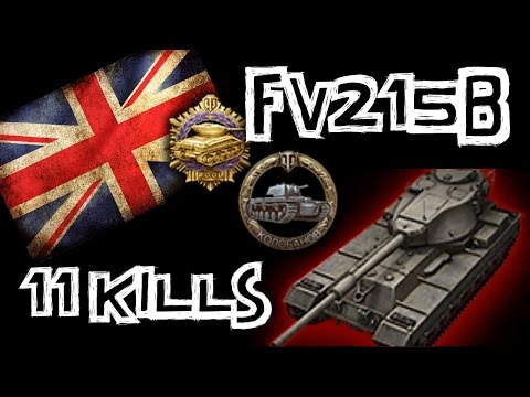 Little - BBirdy shows us how to play the T10 British heavy the FV215b! http://www.twitch.tv/quickybaby/c/5325781 - Alien Highlight! Warning 18+ SUBSCRIBE for more videos!: http://youtube.com/subscription_.