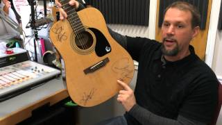 See the Black River Entertainment Guitar - St. Jude Silent Auction