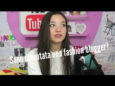 Sono diventata una Fashion blogger? (видео)