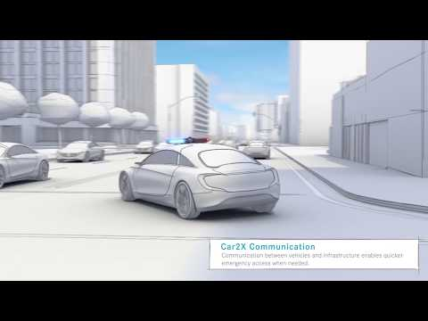 Car2X Communication - intervention en urgence