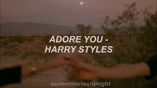 Video harry styles - adore you // lyrics download in MP3, 3GP, MP4, WEBM, AVI, FLV January 2017
