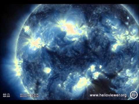 M1.2 solar flare from sunspot region 1654 (11-01-2013)