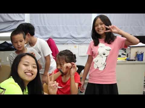 【2018海外青年英語服務營】活動紀錄片–教學花絮(北部)