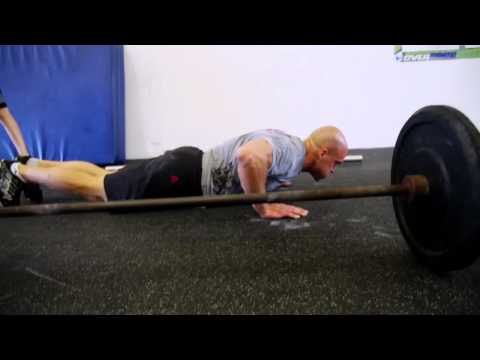amundson - 21-15-9 reps for time of: 95 pound Front squat Burpee Pull-up For more information on CrossFit Specialty Courses, visit: http://www.crossfit.com/cf-info/spec...