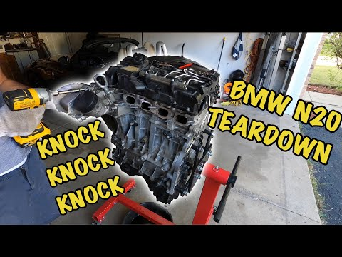 BMW N20 Teardown After Engine Failure - Rod Knock