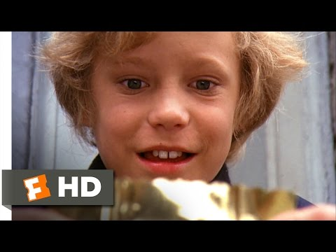 Willy Wonka & the Chocolate Factory - Charlie Finds the Golden Ticket Scene (2/10)   Movieclips