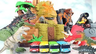 Video Dino Fortress Playset! Learn Names of Dinosaurs With Dinosaur Castle, Tayo, T Rex. Fun Toy For Kids. MP3, 3GP, MP4, WEBM, AVI, FLV Juli 2018