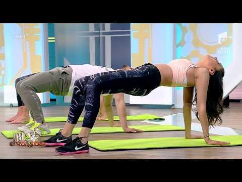 Fitness la Neatza! Înviorarea de dimineață cu Florin Neby