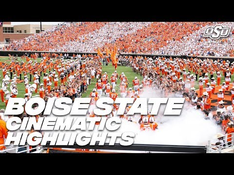 Cowboy Football: Cinematic Highlights vs. Boise State