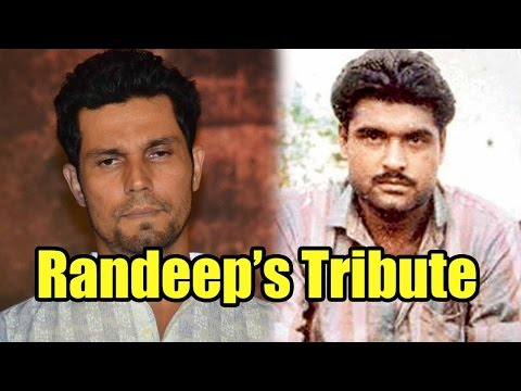 'Sarbjit' Actor Randeep Hooda Pays Tribute To Late