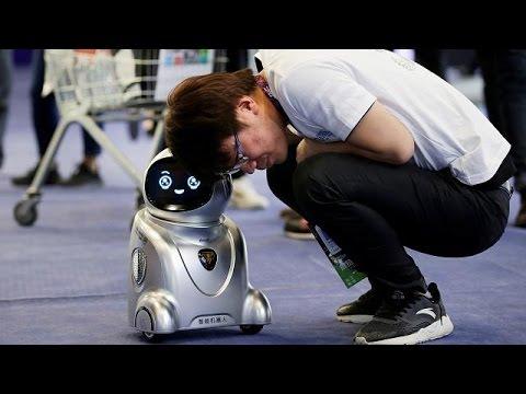 العرب اليوم - الذكاء والمستقبل محور رابع لقمة روبوتات الصين