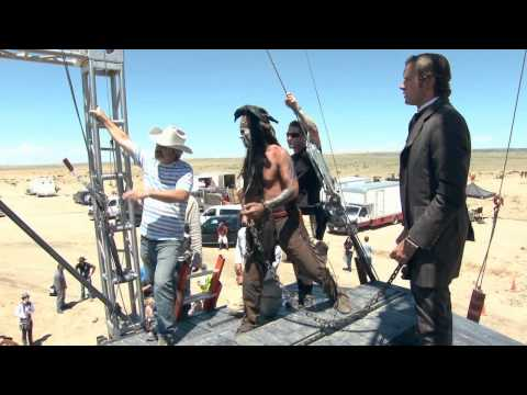 Behind The Scenes of The Lone Ranger (Part 2)