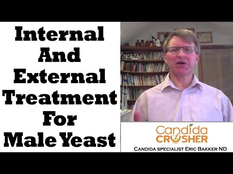 how to treat yeast infection in men