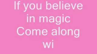 aly & aj - do you believe in magic + lyrics