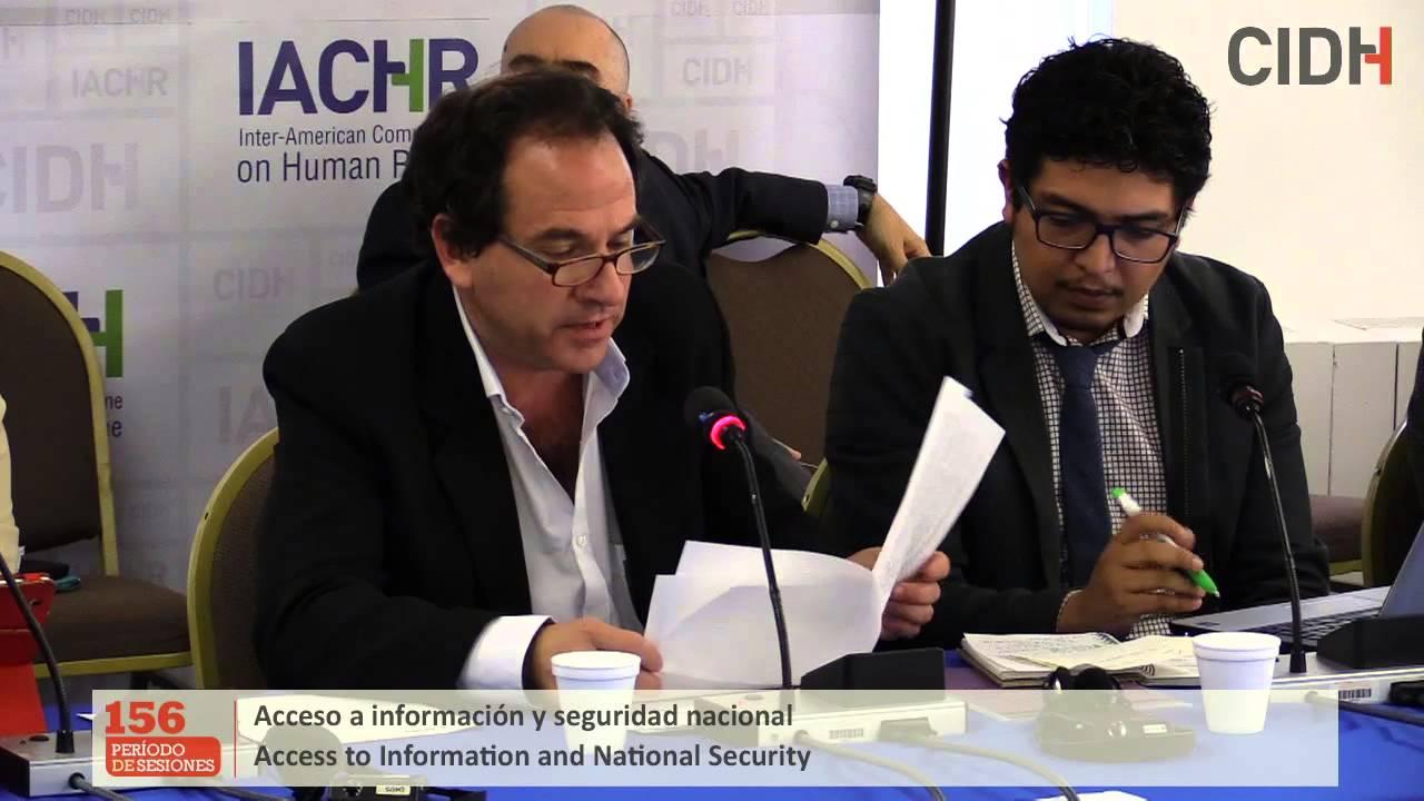 Acceso a la informaci�n y seguridad nacional en Am�rica