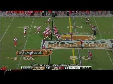 Tajh Boyd vs Ohio St. 2014 video.