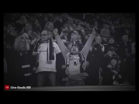 Fazio own goal vs Mönchengladbach HD   Europa League   Black & White