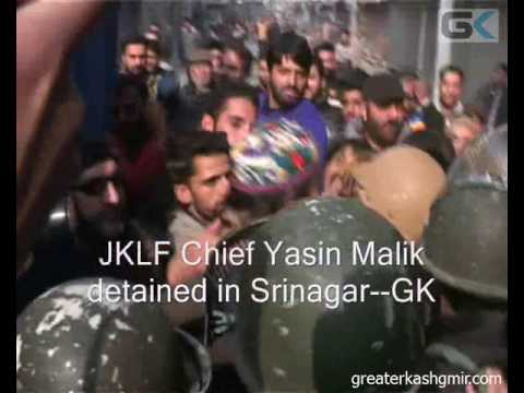 JKLF Chief Yasin Malik detained in Srinagar