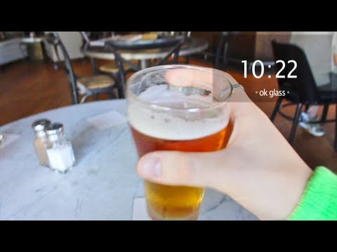 Google Glass på St. Patrick's day!
