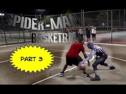 什麼! 黑蜘蛛人現身球場!