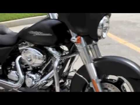 New 2013 Harley-Davidson Street Glide FLHX with RC Component RCX Exhaust & Cycle Smith Bars Apes