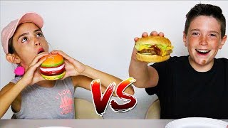 Video SQUISHY FOOD vs REAL FOOD CHALLENGE!! MP3, 3GP, MP4, WEBM, AVI, FLV Juli 2018