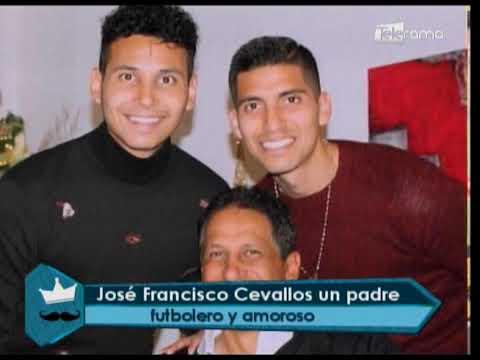 José Francisco Cevallos un padre futbolero y amoroso
