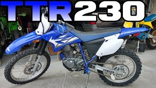 10. The new Yamaha TTR230