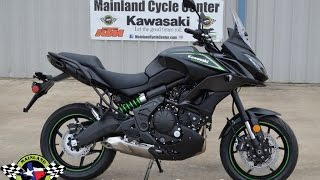 1. $8,099:  2017 Kawasaki Versys 650 ABS Overview and Review