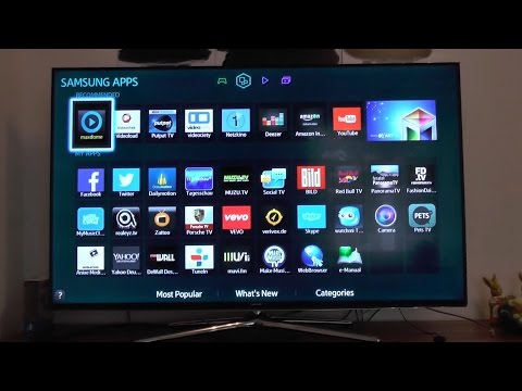 Samsung Smart LED TV H6270 unboxing and initial setup [HD]