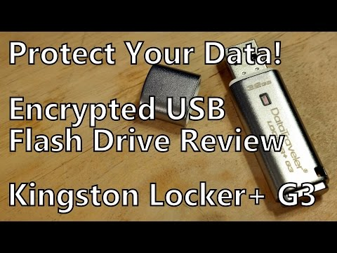 Review: Kingston DataTraveler Locker+ G3 Encrypted USB Flash Drive with Automatic Cloud Backup