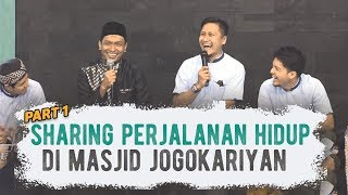 Video Sharing Perjalanan Hidup 7 artis di Masjid Jogokariyan - PART 1 MP3, 3GP, MP4, WEBM, AVI, FLV Juli 2019