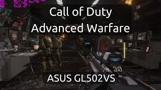 Gameplay of Call of Duty: Advanced Warfare on the ASUS GL502VS running the nVidia GTX 1070.Captured with nVidia GeForce Experience.Twitter: https://twitter.com/IVIauriciusInstagram: https://www.instagram.com/IVIauriciusFacebook: https://www.facebook.com/IVIauriciusSteam: http://steamcommunity.com/id/IVIauriciusPatreon: https://www.patreon.com/IVIauriciusPayPal Donate: https://goo.gl/yvOyR1ASUS GL502VS Specs:Intel Core i7 6700HQ32GB 2133Mhz DDR4 RAM1TB Crucial MX300 m.2 SSD2TB Seagate 5400RPM HDDnVidia GTX 1070Settings:Max Settings1920x1080GSync Disabled