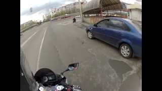 10. Hyosung GT650R Kiev 2012 GoPro Hero2