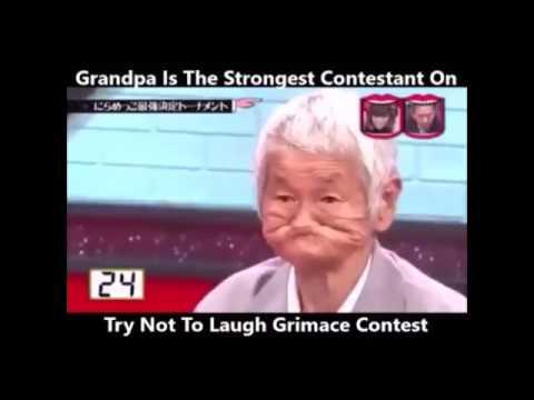 В конкурсе на самую смешную гримасу