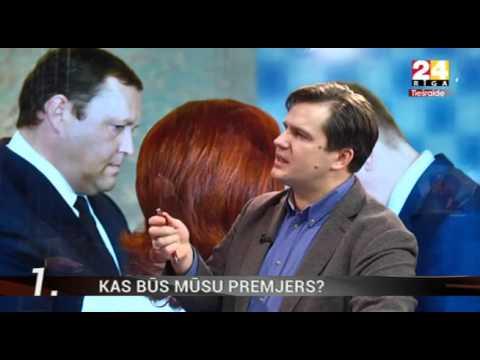 """Veselības ministrs Dr. Guntis Belēvičs TV24 """"Ziņu Top 5"""" - Kas būs mūsu premjers?"""