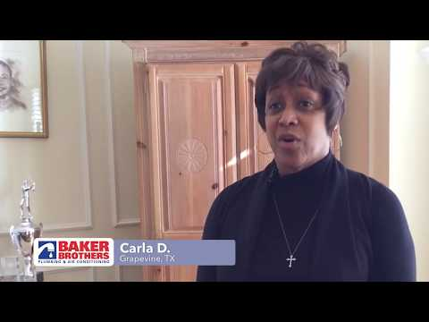Baker Brothers Plumbing Review – Carla D. – Grapevine, TX