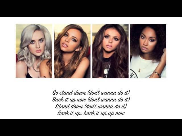 Little Mix - Stand Down (Lyrics + Parts on Screen)
