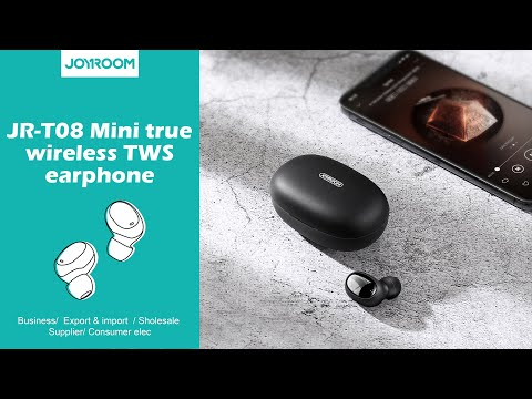 JOYROOM JR-T08 Mini true wireless TWS earphone unboxin
