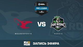 mousesports vs. Heroic  - ESL Pro League S5 - de_cobblestone [ceh9, sleepsomewhile]