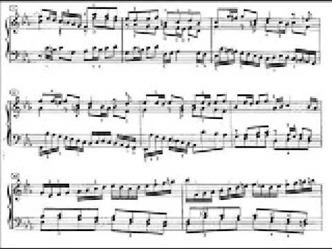 Bach - Prélude et Fugue no.2 en Do mineur BWV847 (Richter)