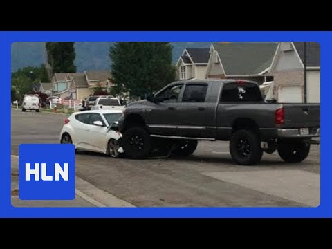 speed - A father is being hailed as a hero after he rammed his own truck into a speeding car, ending a dangerous high-speed chase.Police say the pursuit started afte...