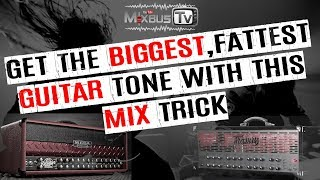 Mixing modern metal guitars: mix trick to make heavy guitars sound bigger and fatter