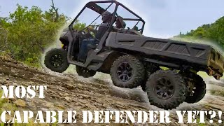 8. NEW Can-Am Defender 6X6 is Insane!