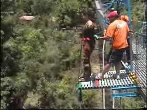 Bunjee Jumping in Nepal Videos